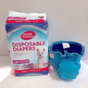 Simple Solution Female Dog Diapers